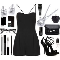 """Monochrome"" by buckley on Polyvore"