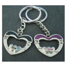 Jewelry gifts of love couple key buckle jewelry lovers
