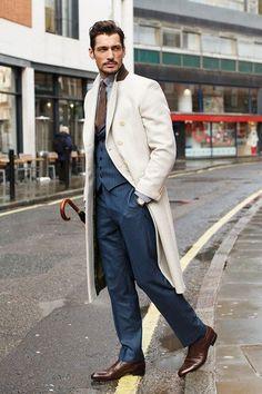 David Gandy Street Style & more details