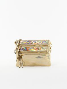 Iridescent Cross Body Bag