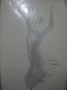 Mulher pulando
