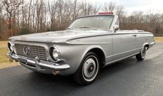 1963 Plymouth Valiant Signet Convertible