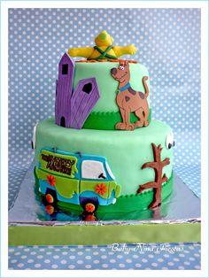 Baby Nina Fiestas: Tarta Scooby doo para Zaylen Torta Scooby Doo, Scooby Doo Birthday Cake, Cake Icing, Cupcake Cakes, Shaggy Scooby Doo, Elegant Birthday Cakes, First Birthday Parties, Birthday Ideas, Party Cakes