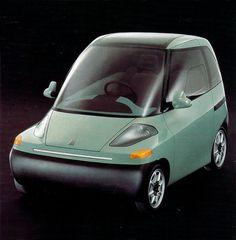 Fiat Downtown, concept, 1993