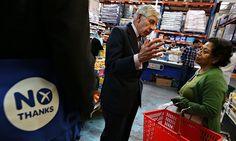 Retailers under pressure to back no vote in Scottish referendum