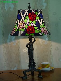 Rose Tiffany Lamps  14S0-174T316