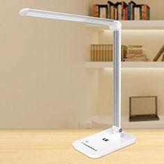Dimmbare LED Schreibtischlampe von Lighting Ever – Faltbar und sparsam