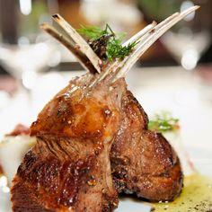 Carr s d 39 agneau en cro te pic e recette noel agneau - Cuisiner cote d agneau ...