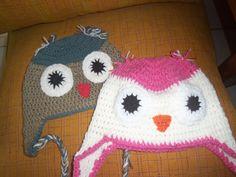 gorritas búho Crochet Hats, Beanie, Fashion, Knitting Hats, Moda, Fashion Styles, Beanies, Fashion Illustrations, Beret