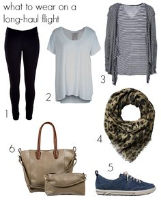 What to wear on a long-haul flight