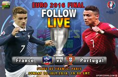 France will battle it out with Portugal for another major trophy in their home soil in the Euro 2016 final at Stade de France on Sunday night.