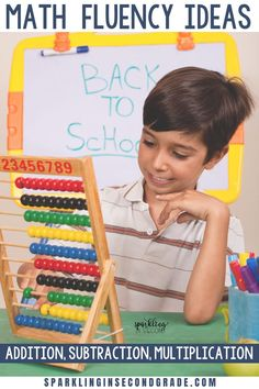 Math fact fluency games and activities. Addition, subtraction, multiplication, and division. Fluency Activities, Math Fact Fluency, Multiplication Strategies, 2nd Grade Math, Third Grade, Primary Maths Games, Teaching Math, Kindergarten Math, Math Websites