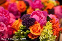 pink and orange wedding flowers - Bing Images