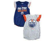 f0be2bc5a Buy Edmonton Oilers Reebok NHL CN Newborn Polka Fan Creeper Set Infant  Apparel Apparel and other Edmonton Oilers Reebok products at Lids.ca