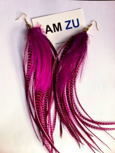 #iamzu #pink #earrings
