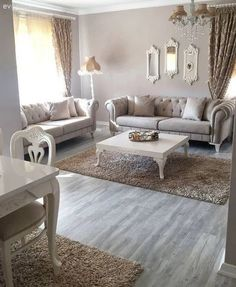 simple living room curtain ideas that will amaze you 27 Living Room Sofa, Home Living Room, Living Room Decor, Home Room Design, Living Room Designs, Sofa Design, Interior Design, Simple Living Room, Sofa Set