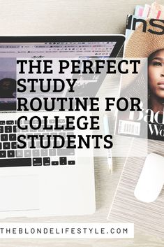 The Perfect Study Routine For College Students If you're looking to improve your college study routine this semester, look no further. This is the perfect study routine for college students. Perfect your study habits with this study routine. College Life Hacks, College Success, Life Hacks For School, School Study Tips, College Fun, College Tips, College Dorms, College Basketball, College Agenda