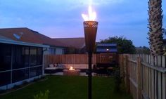 Torches/Firepit