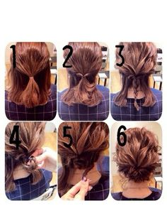 15 Hot Winter Hairstyles and Haircuts to try in This Winter Wedding Hair Up, Prom Hair, Short Hair Updo, Curly Hair Styles, Braided Hair, Mother Of The Bride Hair, Hair Arrange, Work Hairstyles, Pinterest Hair