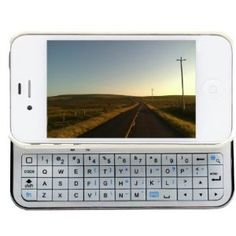 Sliding bluetooth keyboard/protecting case for iPhone ...