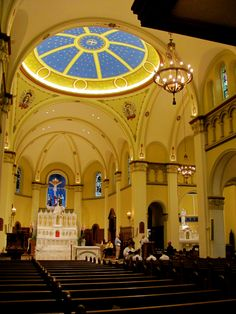 Mount St. Mary's University Chapel of the Immaculate Conception, Emmitsburg, MD