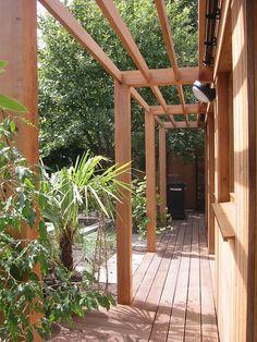 Garden Studio. Dublin, via Flickr. Garden Studio, Dublin, Pergola, Arch, Houses, Outdoor Structures, Homes, Longbow, Outdoor Pergola