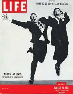 August 13, 1951: Martin and Lewis: Top money act in show business.