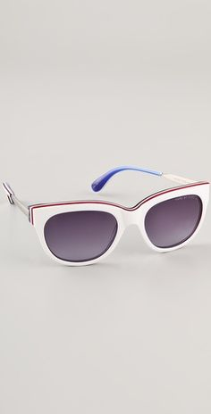 c738700c44fd Triple laminate cat eye sunnies - Marc by Marc Jacobs Marc Jacobs Sunglasses