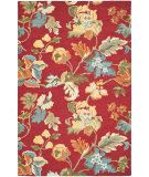 RugStudio presents Safavieh Blossom Blm672a Red / Multi Hand-Hooked Area Rug