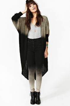 Unearthed Duster Cardi