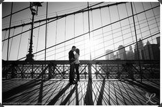 NYC Engagement Photography: Robert and Kathleen Photographers   Central Park and Brooklyn Bridge, Manhattan, NYC: Engagement Session Photos