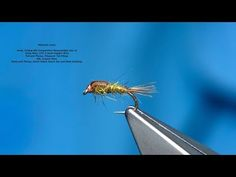 Tying a Copper Hare's Ear Nymph by Davie McPhail - YouTube