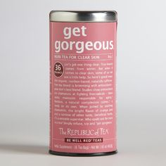 The Republic of Tea Get Gorgeous Red Tea {love this}