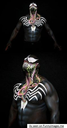 Insane Venom Body Paint