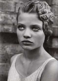 Mélanie Thierry Vogue Italia (March 1998) ph. Peter Lindbergh