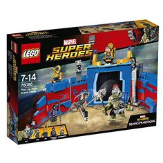 buy now   £54.99     Stage an epic Thor vs. Hulk clash in the arena! Bring Thor from the prison, slide open the arena gate and let battle commence. Dodge the Hulk's  ...Read More