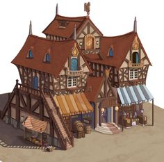 Idea for minecraft town.