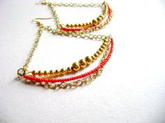 Conquest  Long maximalist and simple boho chic red by DivinaLocura, $15.00
