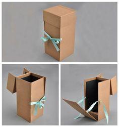 custom design cardboard paper gift box