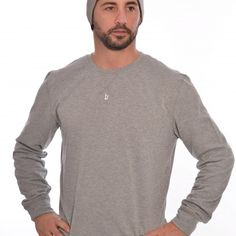 Walt Crewneck Pullover heather grey