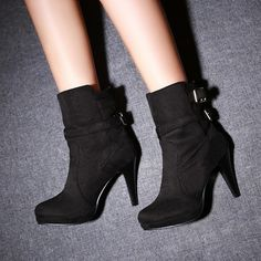 Find More Information about w2014 ankle platform high heels boots women shoes high heels women boots motorcycle boots,High Quality boots harness,China boot 10 Suppliers, Cheap boots button from ShinningQueen on Aliexpress.com