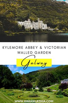 Here's a bunch of things that you can try while you're in Kylemore Abbey and Victorian Walled Garden. Head on to my blog for a complete travel guide. #europe #ireland #galway #galwaygirl #connemara #touristattractions #garden #kylemoreabbey #travelguide Kylemore Abbey Ireland   Ireland Landscapes   Places To Visit   Things To Do   Ireland Landscapes   Ireland Aesthetic Travel Photos, Travel Tips, Connemara Ireland, Ireland Travel Guide, Walled Garden, Ireland Landscape, Europe Destinations, Bucket Lists, Landscapes