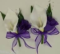 purple calla lily wedding bouquets - Bing Images
