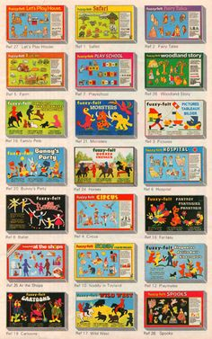 Omg I played with these for hours. 1970s Toys, Retro Toys, Vintage Toys, 1960s, 1980s Childhood, My Childhood Memories, 1980s Kids, Fuzzy Felt, My Memory