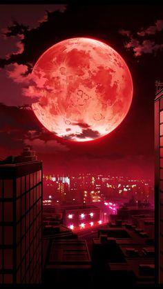 Luna de sangre.