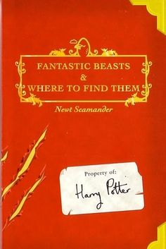 "In a statement posted to her Facebook page, J.K. Rowling announced that she would be teaming with Warner Bros. to create a new series of films ""inspired by"" the Hogwarts textbook Fantastic Beasts and Where to Find Them, and the book's author, Newt Scamander."