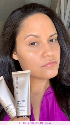 Find out why this versatile hydrating tinted moisturizer from Bareminerals should be in your makeup bag. Bare Minerals Complexion Rescue, Makeup Bag Essentials, Natural Makeup Tips, Different Skin Tones, Makeup Must Haves, Tinted Moisturizer, Bareminerals, Everyday Makeup, Party Makeup