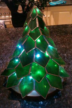 Christmas in glass by Maria