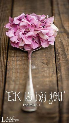 Ek is by jou | Ps 48:1 | Afrikaans is wonderlik