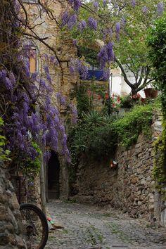 Bussana Vecchia, Sanremo by Alex Dorio